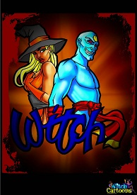 Witch Cartoons – Witch 1-25