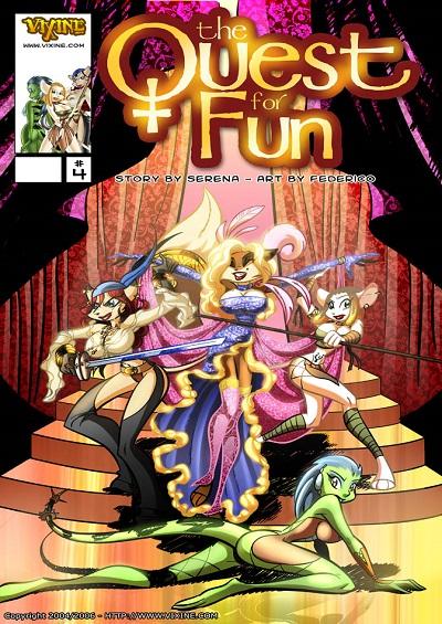 Vixine Art- Quest For Fun 4