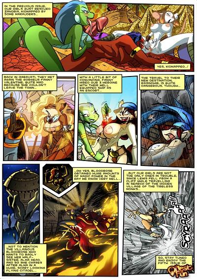 Vixine Comix- Quest For Fun 05