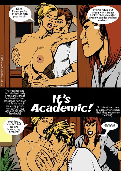 Cat Fight Central- It's Academic