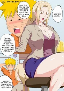 Tsuna x Hina- Naruto (Naruhodo)