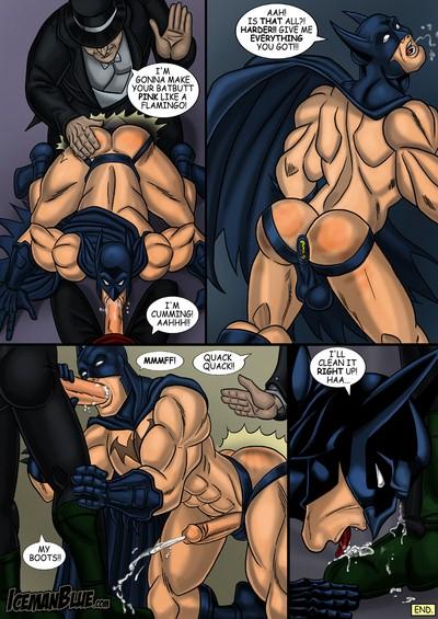[Iceman Blue] Batman