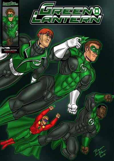 [Iceman Blue]- Green Lantern
