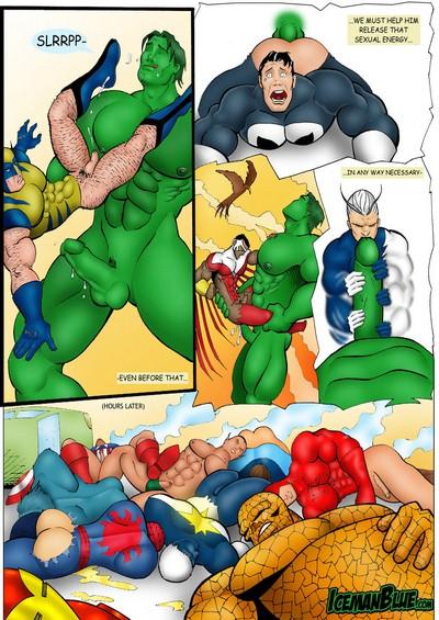 [Iceman Blue]- Hulk in Heat