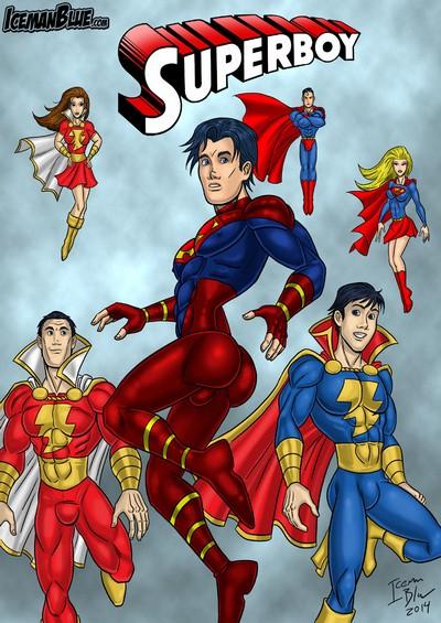[Iceman Blue] Superboy