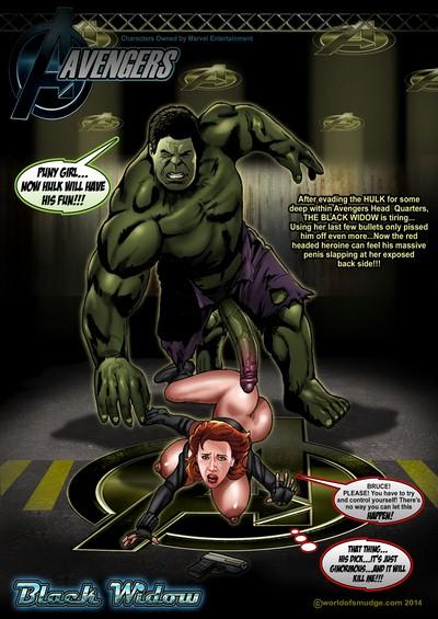 Smudge- Black Widow Vs The Hulk [The Avengers]
