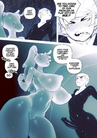 Doxy- Zooic (Alien Dickgirl)