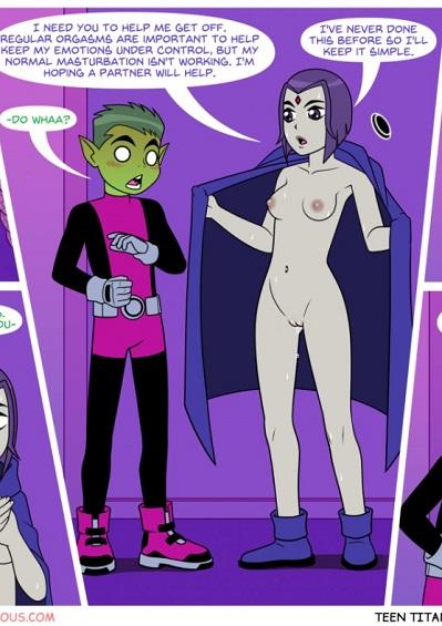 Teen Titans- Off Duty