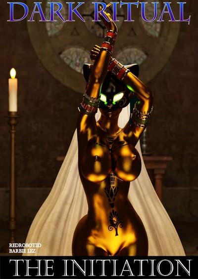 Redrobot3D- Dark Ritual – The Initiation ~