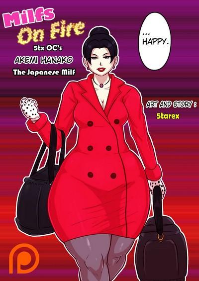 5tarex- Milfs on FIre- Akemi Hanako