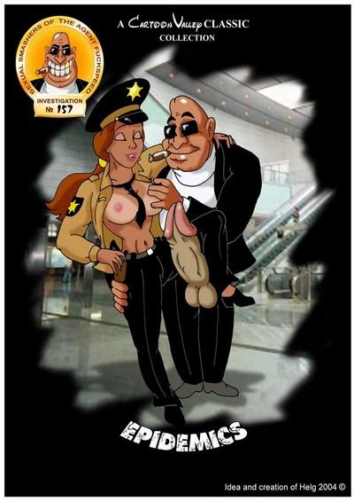 CartoonValley- Agent Fuckspeed