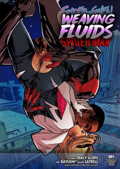 Tracy Scops- Weaving Fluids #1 (Spider-Man)