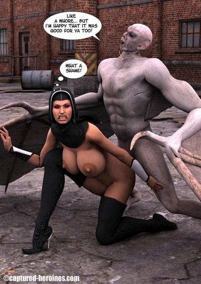 Captured Heroines- Sister Soulforge 3