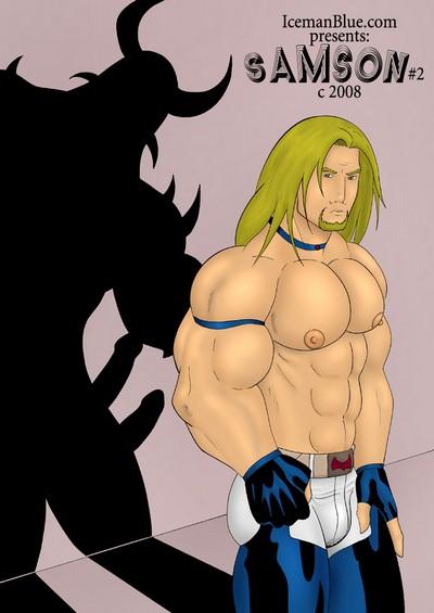 Iceman Blue- Samson