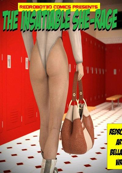 Redrobot3D- The Insatiable She Rage [She Hulk] ~