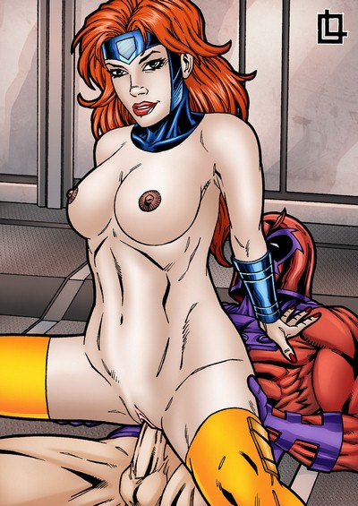 Leandro- Magneto fucks Jean Grey