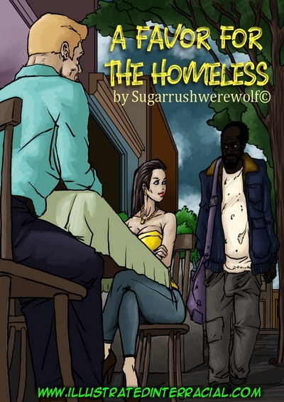Illustrated Interracial- A Favor For The Homeless