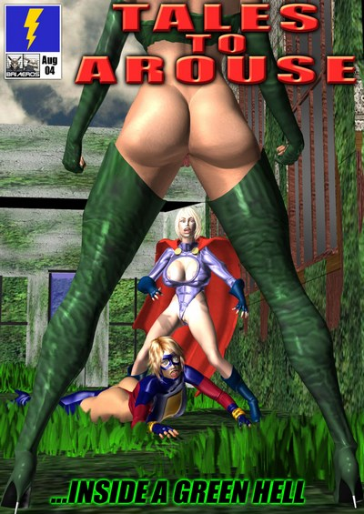 Superheroinecentral- Tall To Arouse- Inside A Green Hell
