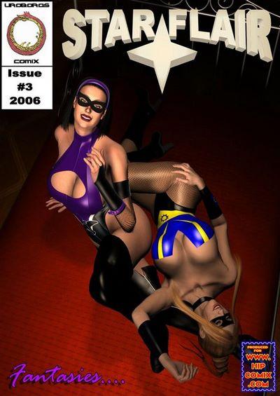 Uroboros- Star Flair Issue 3- Fantasies