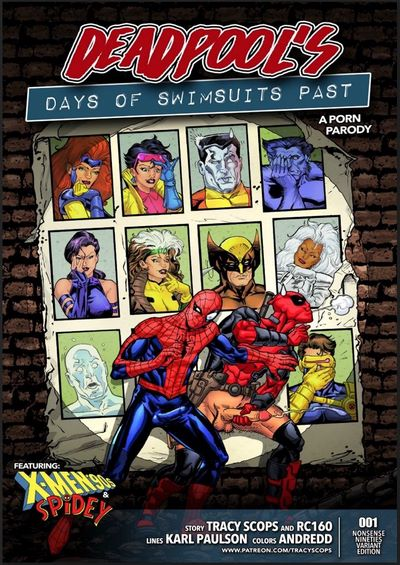 Tracy Scops- Deadpool's- Days of Swimsuits Past