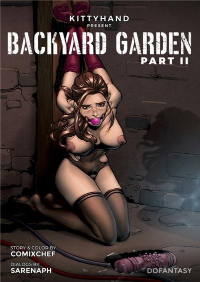 Kitty Hand- Backyard Garden 2
