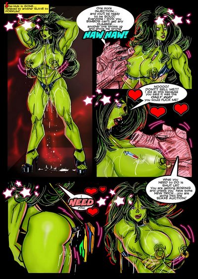 SuperPoser- Green With Lust- Hulk