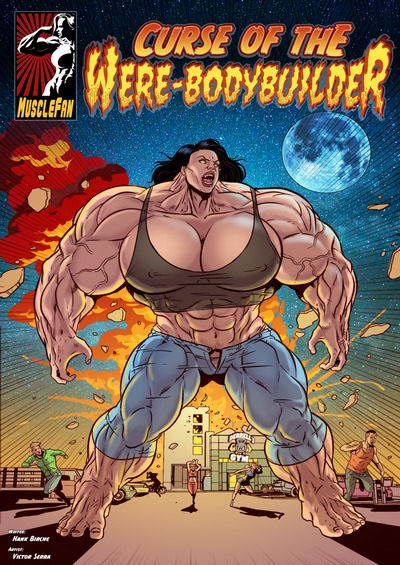 Musclefan- Curse of the Were-Bodybuilder- Victor Serra