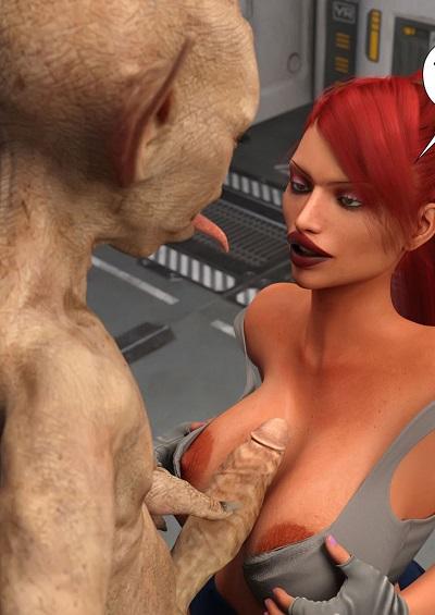 RedRobot3D- The Stowaway- Interspecies Communication #3 ~