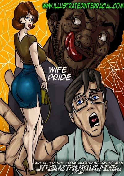illustratedinterracial- Wife Pride