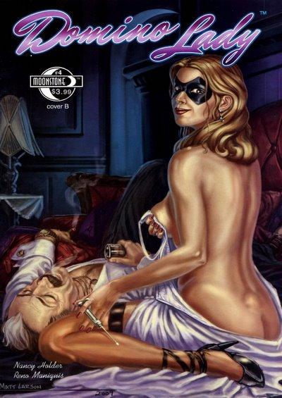 Matt Larson- Domino Lady #4