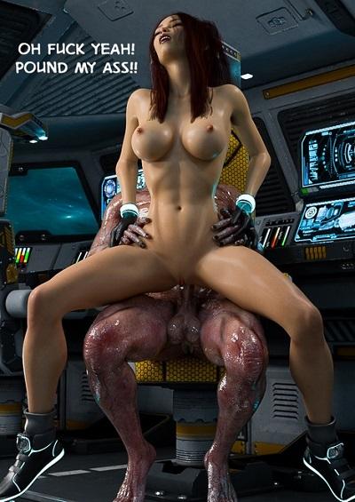 3DZen- Bounty Huntress Arie- Cockpit ~