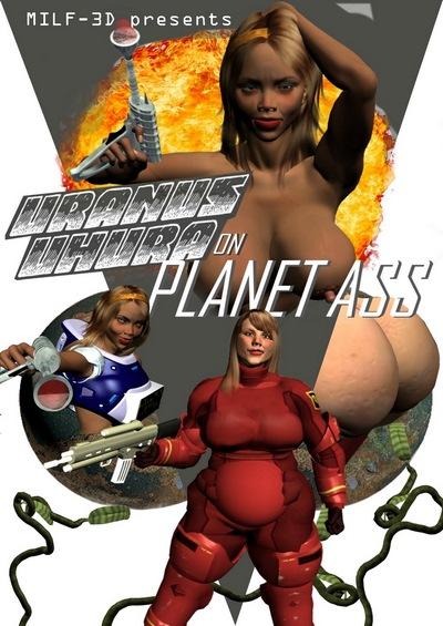 [Milf-3D] – Uranus Uhura on Planet Ass