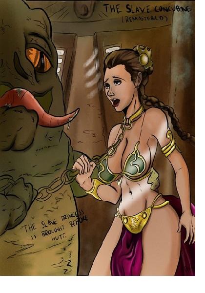 Lewdistrator-The Slave Concubine (Star Wars)