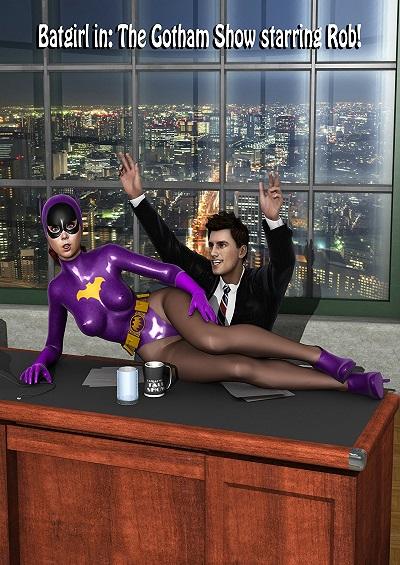 Yvonne Craig – Batgirl the Gotham show starring rob
