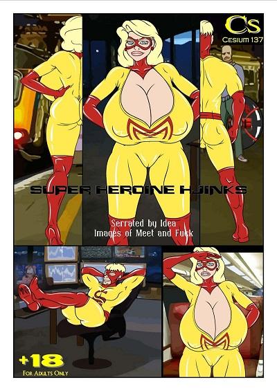 [Meet'n'Fuck] Super Heroine Hjinks