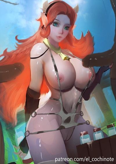 [el cochinote] Cow Princess (Hyrule Warriors)