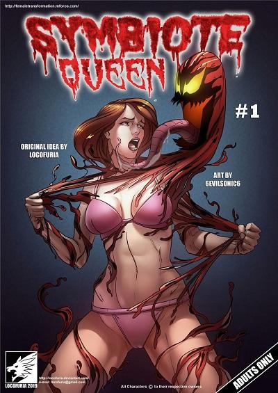 (Locofuria) Symbiote Queen #1- 6Evilsonic6
