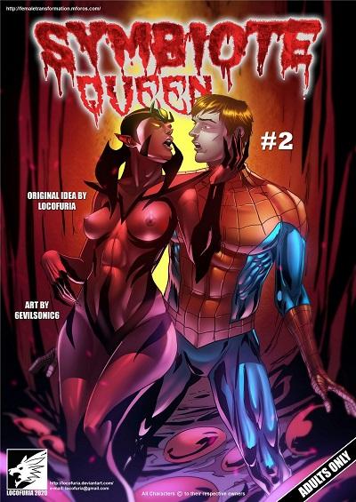 (Locofuria) Symbiote Queen #2- 6Evilsonic6