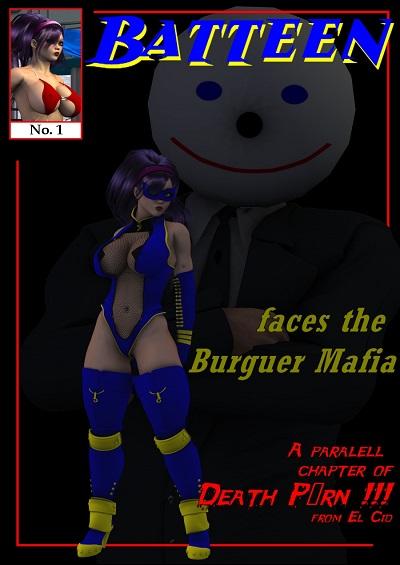 Batbabe Universe – Batteen Vs Burguer Mafia