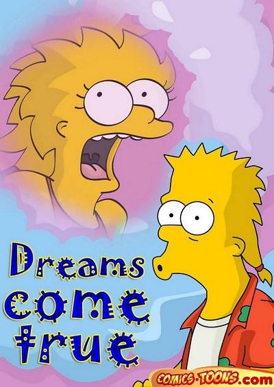Comics Toons – Dreams come true (The Simpsons)