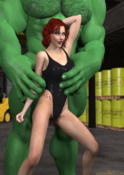 Hooking up with Hulk -(WilsonHoncho)