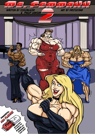 Mighty Female Muscle Comix – Ms. Femmaxx 02