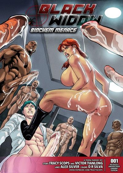 Tracy Scop- Biochem Menace – Alex Silver [Avengers]