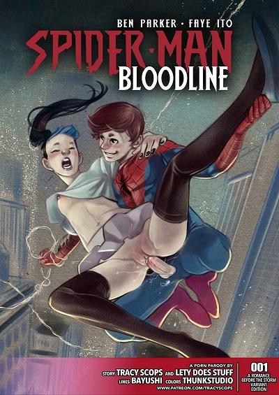 (Tracy Scops)- Spider-man Bloodline