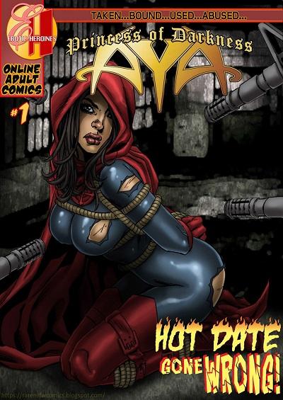 Aya Super Heroine in Bondage