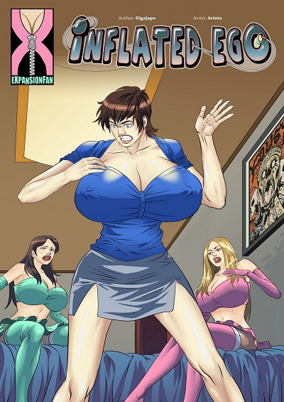 (ExpansionFan) Inflated Ego Issue 8 by Frost