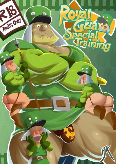ZombieHK- Royal Guard Special Training Remake [The Legend of Zelda]