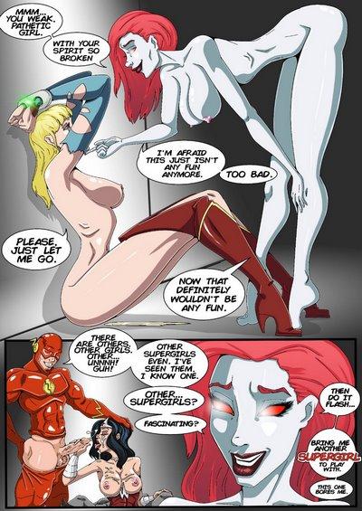 Genex- True Injustice- Supergirl Part 2