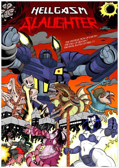Blue Striker- Hellgasm Slaughter