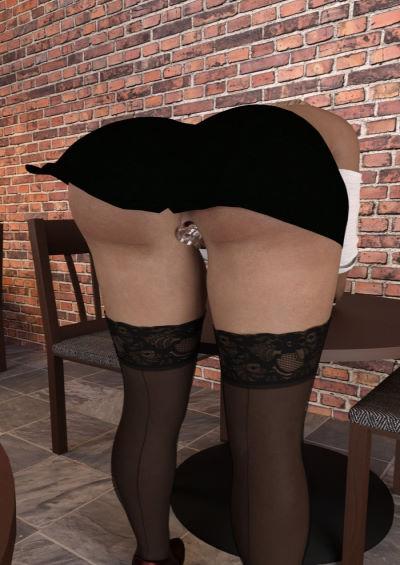 Nizete at the coffeeshop (TharinTurambar)